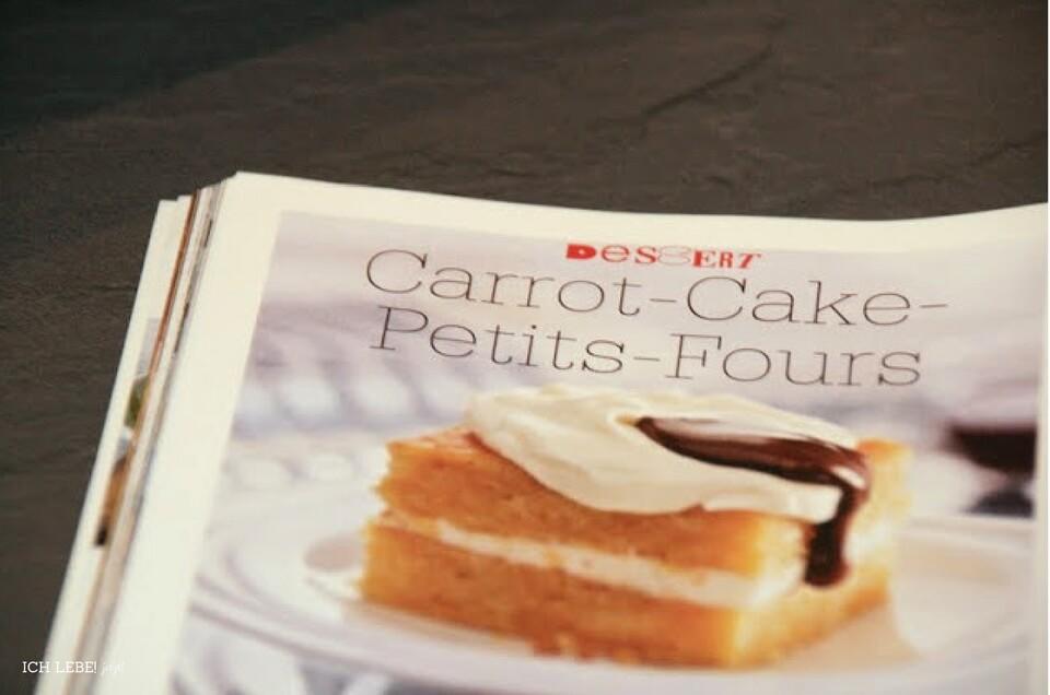 Rezeptbild zu carrot Cake petit fours