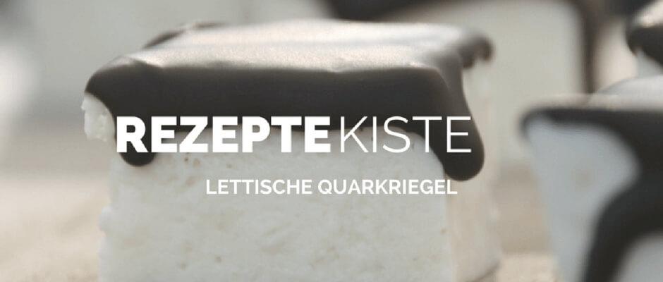 Sonntagsüß: Lettische Quarkriegel {Kārums}