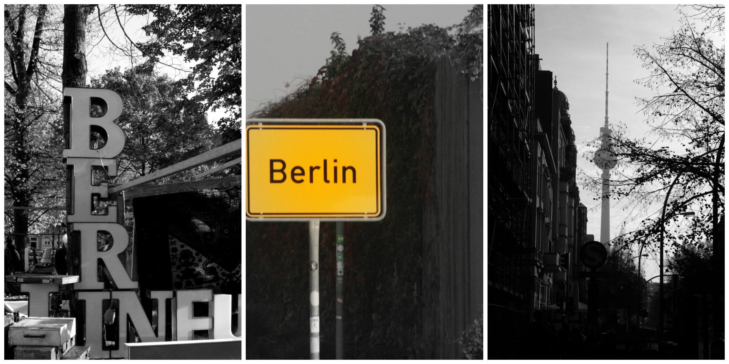 Straßenschild Berlin, fernsehturm,