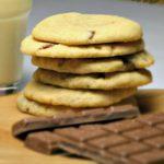 Schokoladen Erdnussbuttercookies