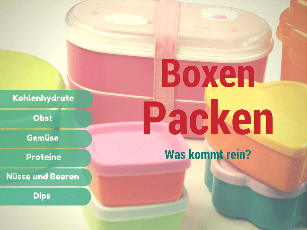 Was kommt in die Bentobox