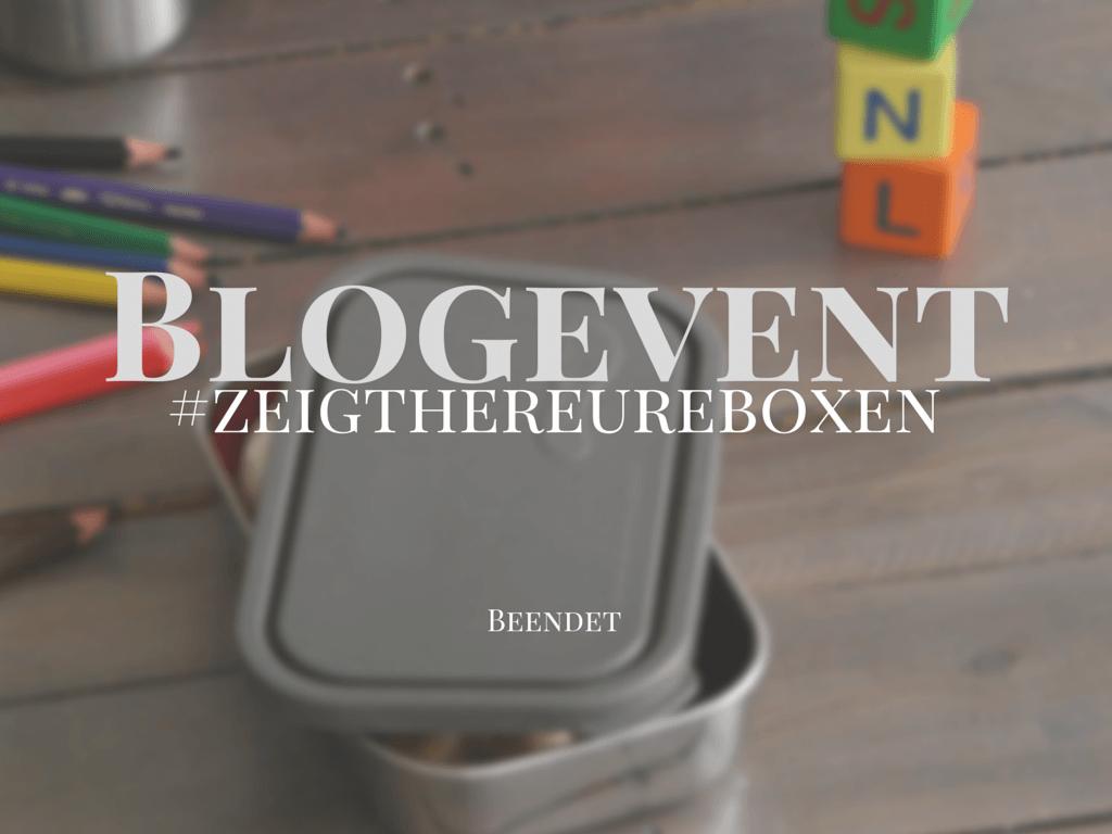 Ende Blogevent #zeigthereureboxen