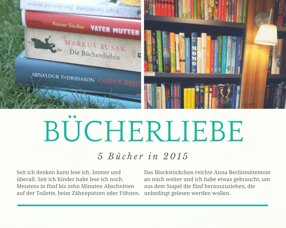 5 Bücher in 2015