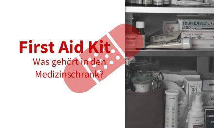 Erste Hilfe Ausrüstung für Familien