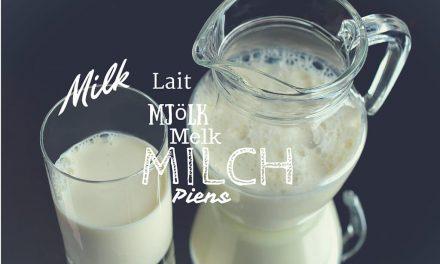 Die Milch macht`s!