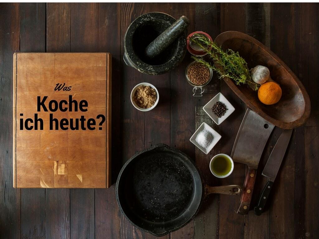Was soll ich kochen?