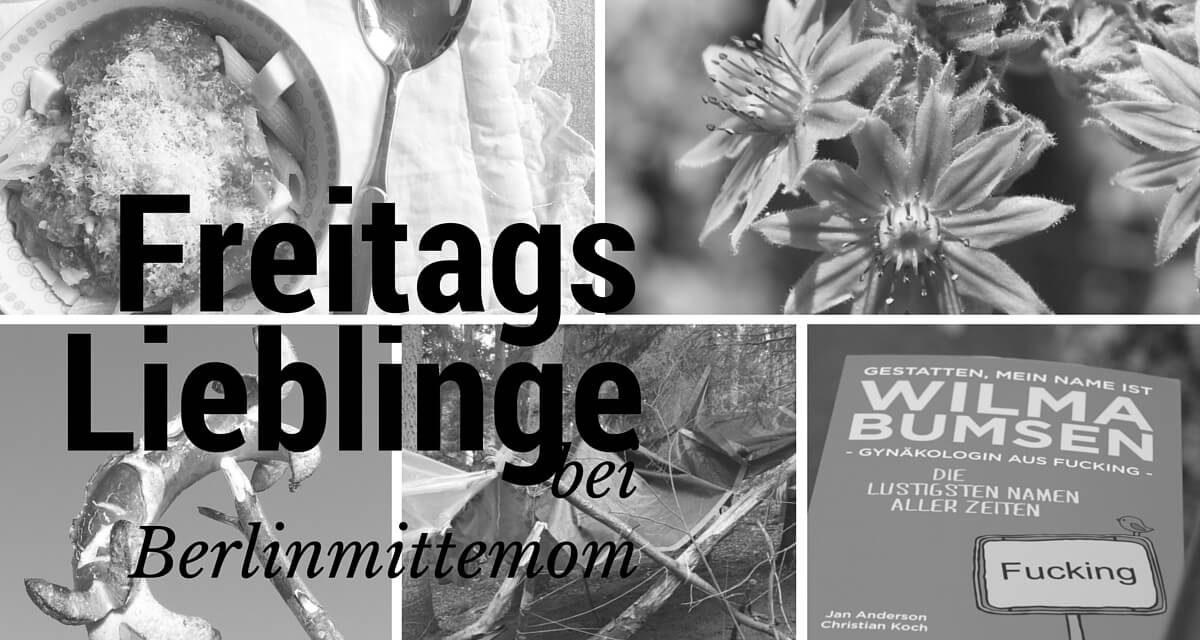 Pasta, Namen, Wald und Grillen {01.07.2016}