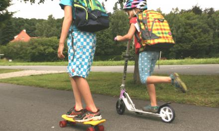 Vom Festhalten und Loslassen: <br>Der Schulweg