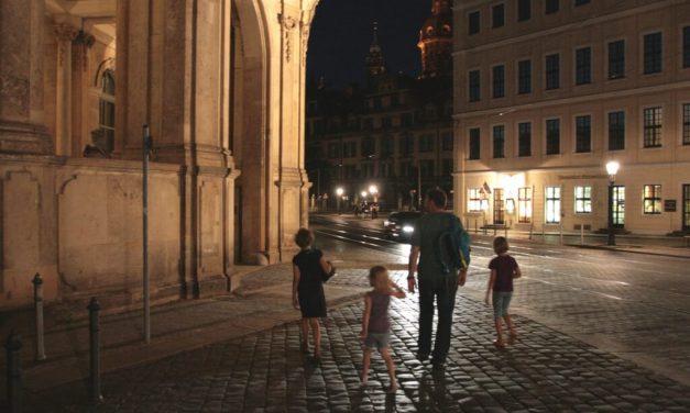 Mit der Familie nach Dresden