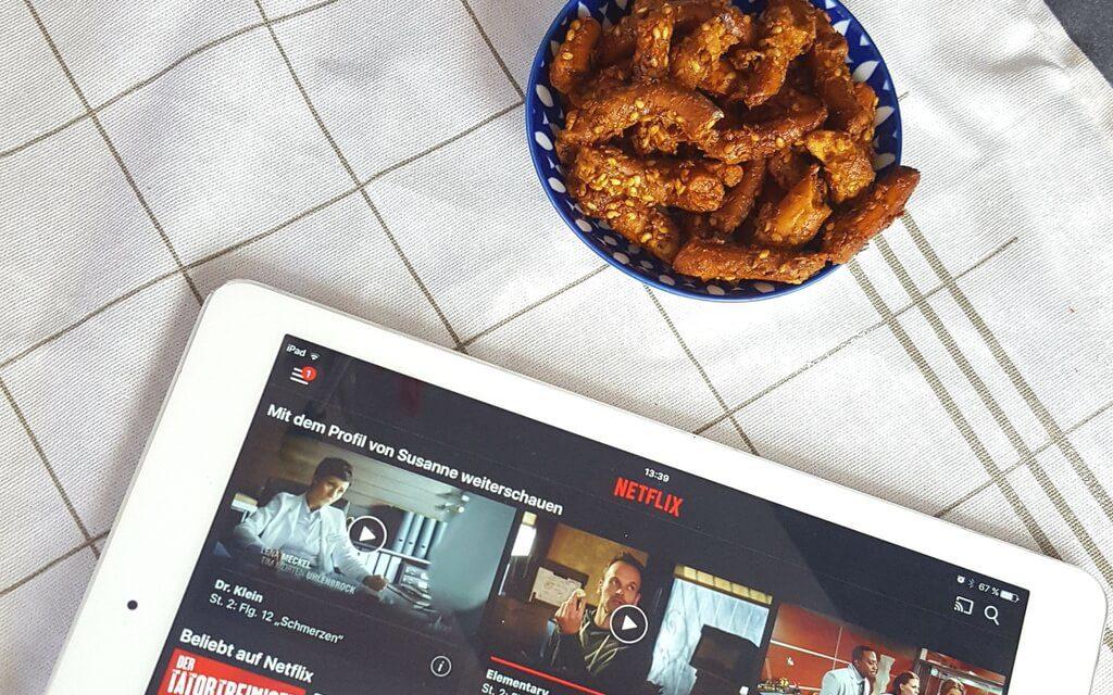 Netflixsnack ::: Brezel Bites