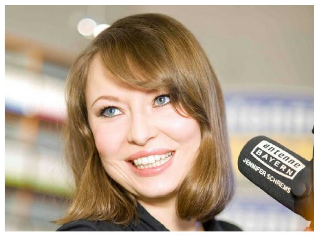 Radiomoderatorn Jennifer Schrems