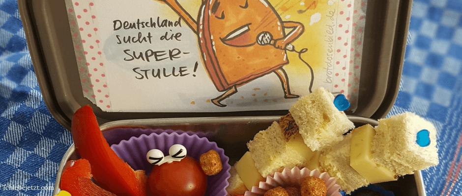 Bentobox für die Schule mit Bild von Brotdosenbild.de im Deckel