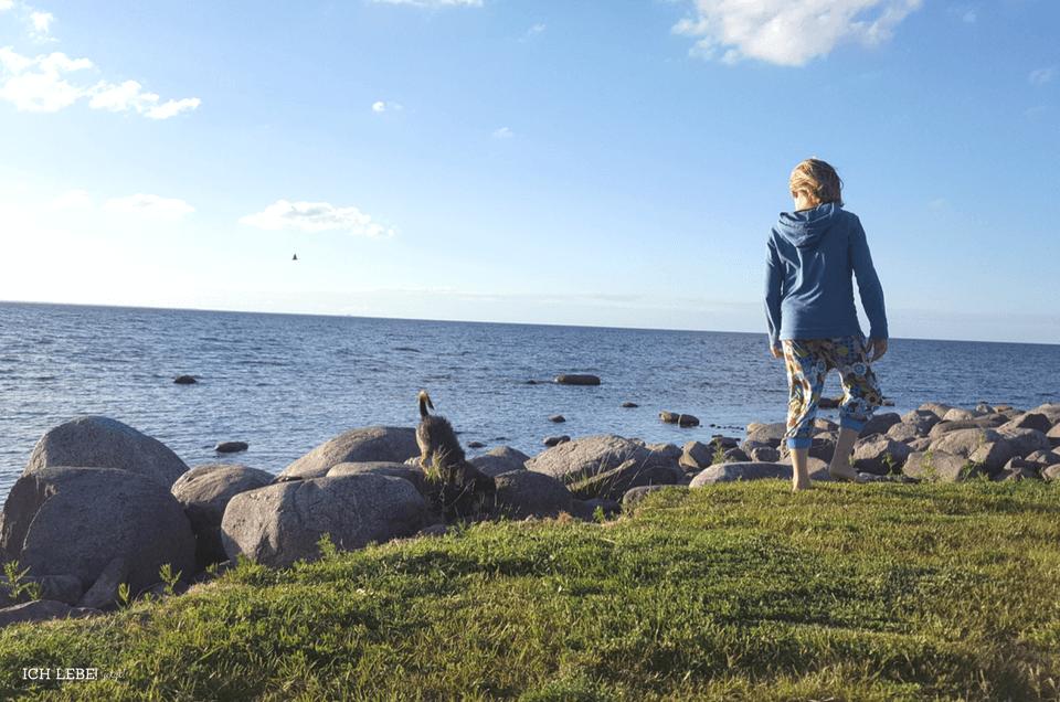 Abendspaziergang am Nordstrand von Öland: Borgholm