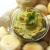 Schnelles Hummus mit viel Korriandergrün