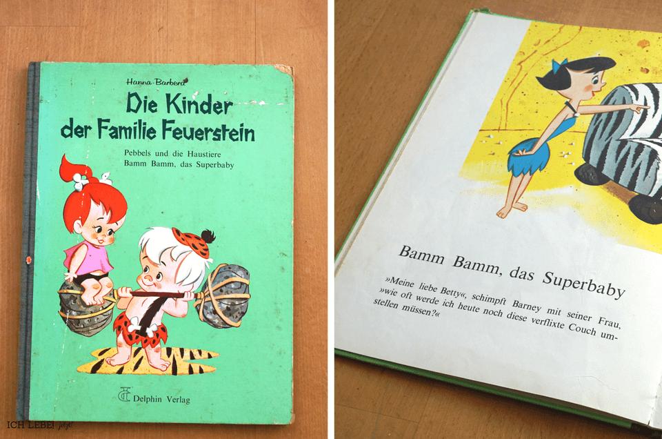 Die Kinder der Familie Feuerstein, 4. Auflage 1970, Hanna Barbera