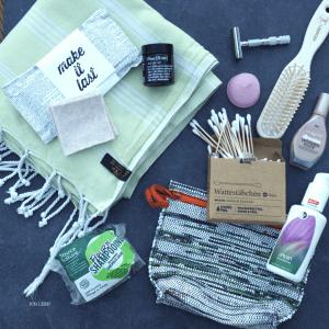Nachhaltige Utensilien im Badezimmer