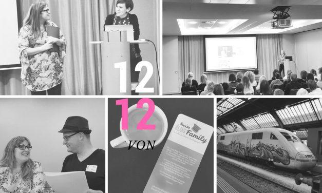 Meine Reise zur Schokolade und Bloggerkonferenz in die Schweiz: 12 von 12 November 2017