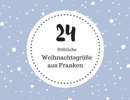 Ein Weihnachtsgruß aus Franken #Türchen Nr. 8