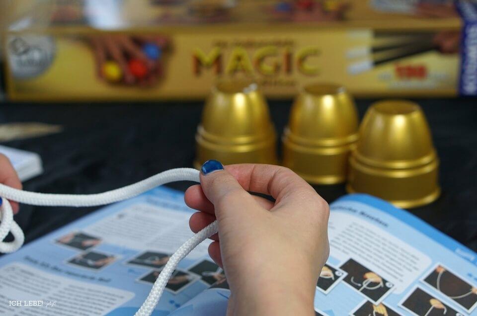 Seiltrick aus dem Kosmos Zauberkasten