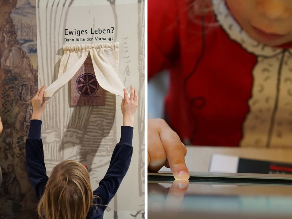 Kinder erkunden die Cadolzburg: digital und analog