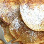Rezept für leckere, fluffige Apfelpfannkuchen