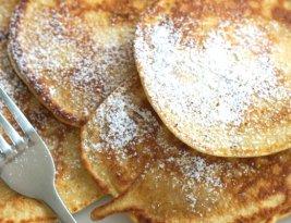 Apfelpfannkuchen für Groß und Klein