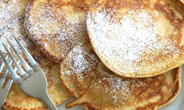 #Pfannkuchenfreitag: Apfelpfannkuchen für Groß und Klein
