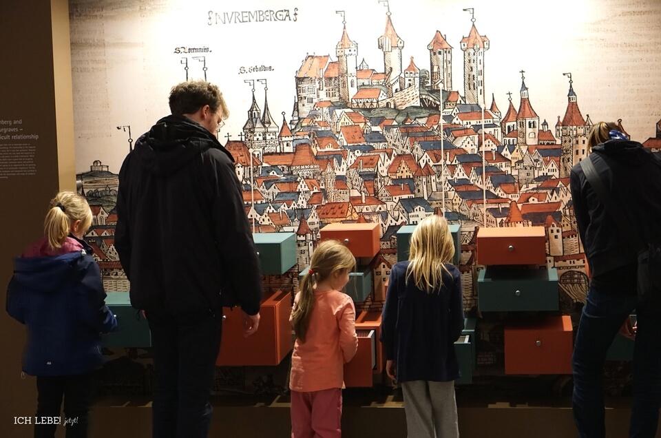Große und Kleine erleben Geschichte im Museum auf der Cadolzburg