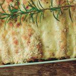 Kräuterpfannkuchen im Ofen überbacken