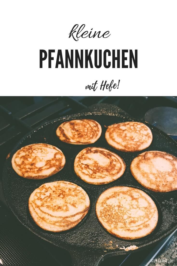 Hefepfannkuchen mit Orangenkompott und Vanillequark