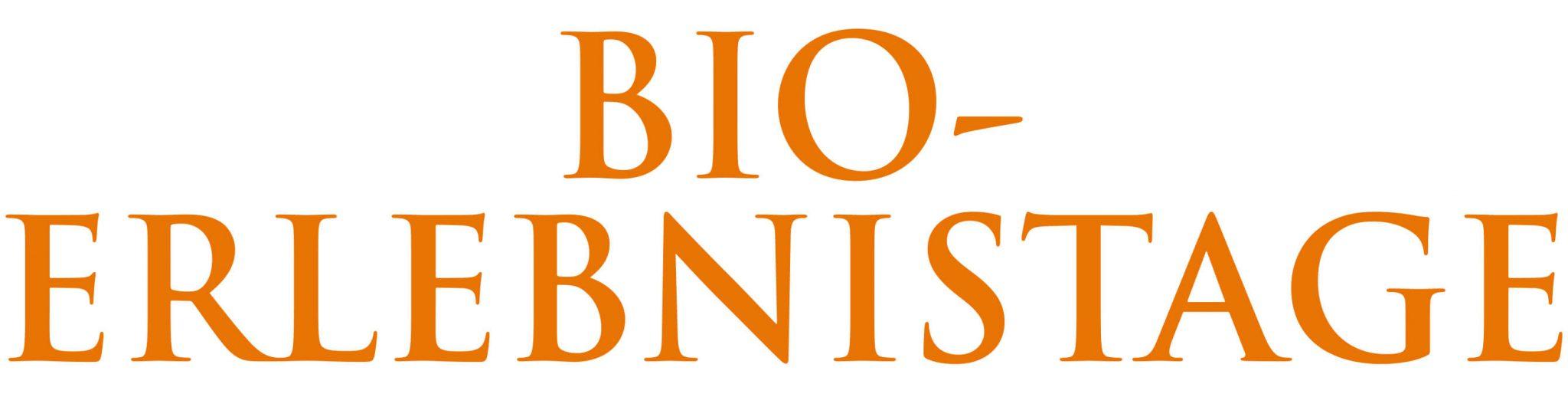 Bio-Erlebnistage