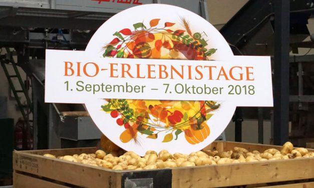 Bio Erlebnistage 2018 in Bayern