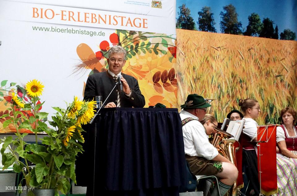 Hubert Bittlmayer, Amtschef des Bayerischen Staatsministeriums für Ernährung, Landwirtschaft und Forsten