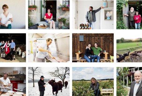 Menschen aus den Ökomodell Regionen in Bayern