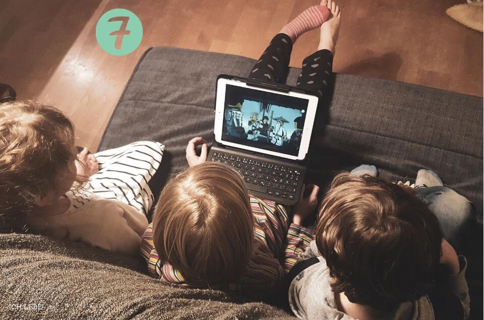 Kinder schauen Netflix