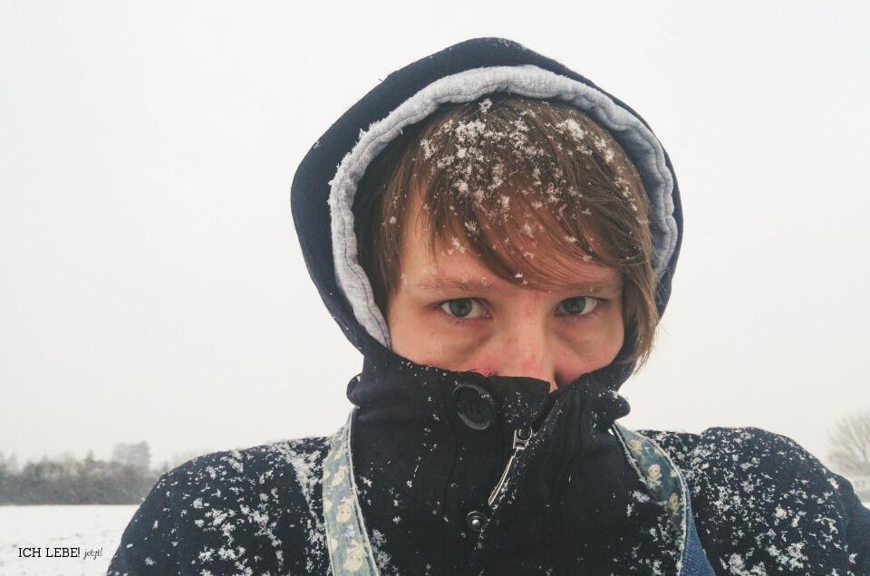 Selfie im Schnee