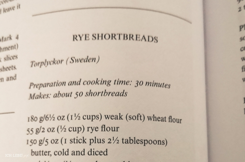 Rezept für Roggen Shortbread