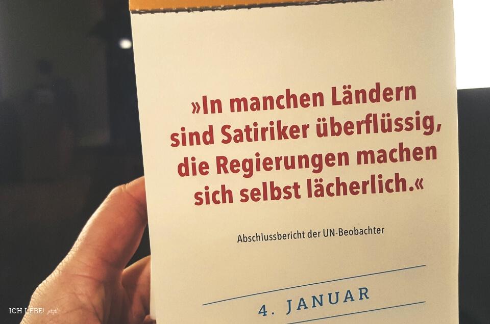 4. Januar Kalenderblatt: Falsch zugeordneter Kalender. Aus dem Abschlußbericht der UN-Beobachter