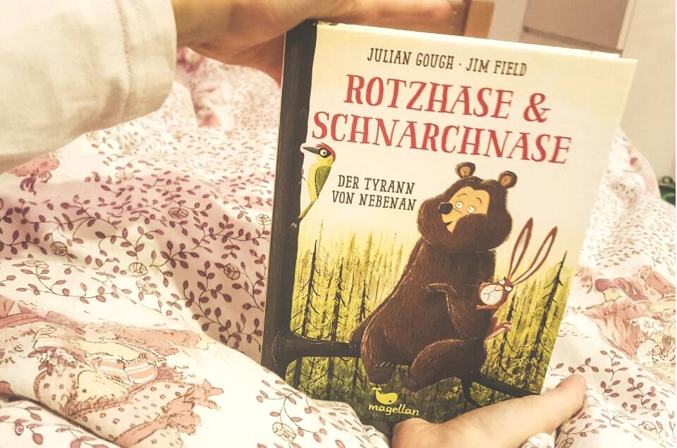 Rotzhase & Schnarchnase - Der Tyrann von nebenan - Band 2  Julian Gough, Jim Field