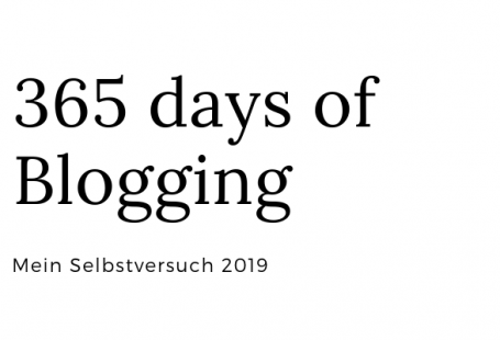 365 days of blogging