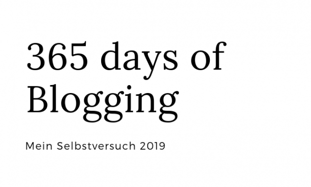 365 days of Blogging– 26