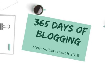 365 days of Blogging– 60