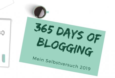 365 days of Bloggging Titel