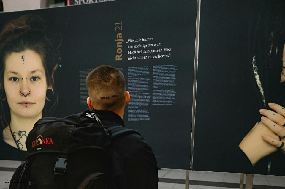Ausstellung im Hauptbahnhof