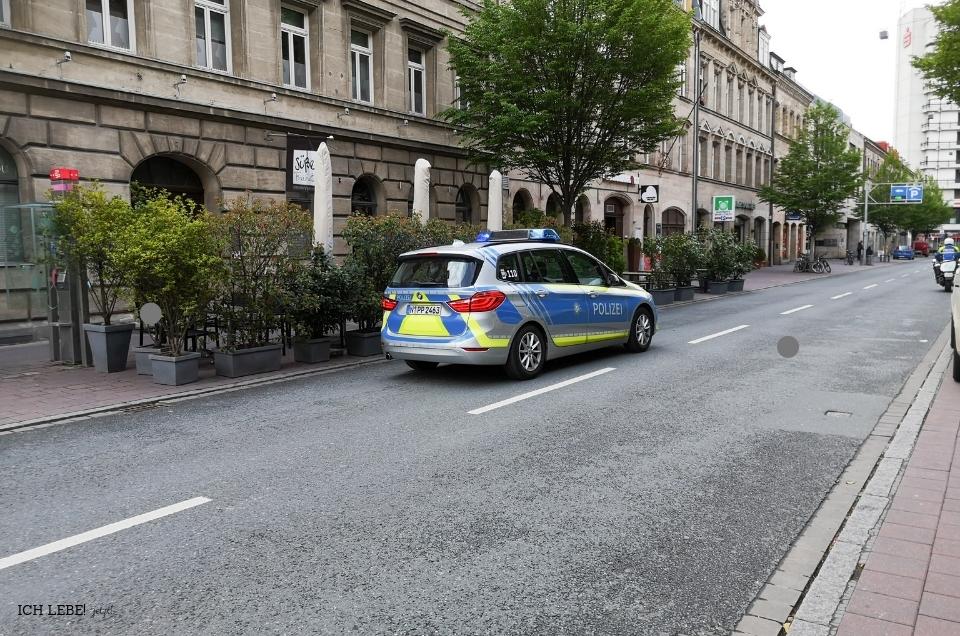 Polizei beim Fürthlauf
