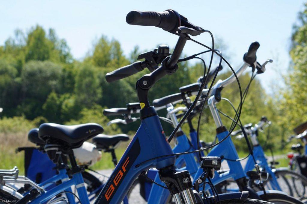 E-Bikes als schnelles Fortbewegungsmittel
