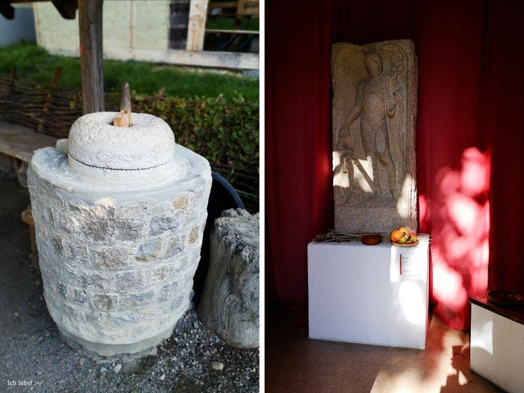 Alte Mühle und Altar