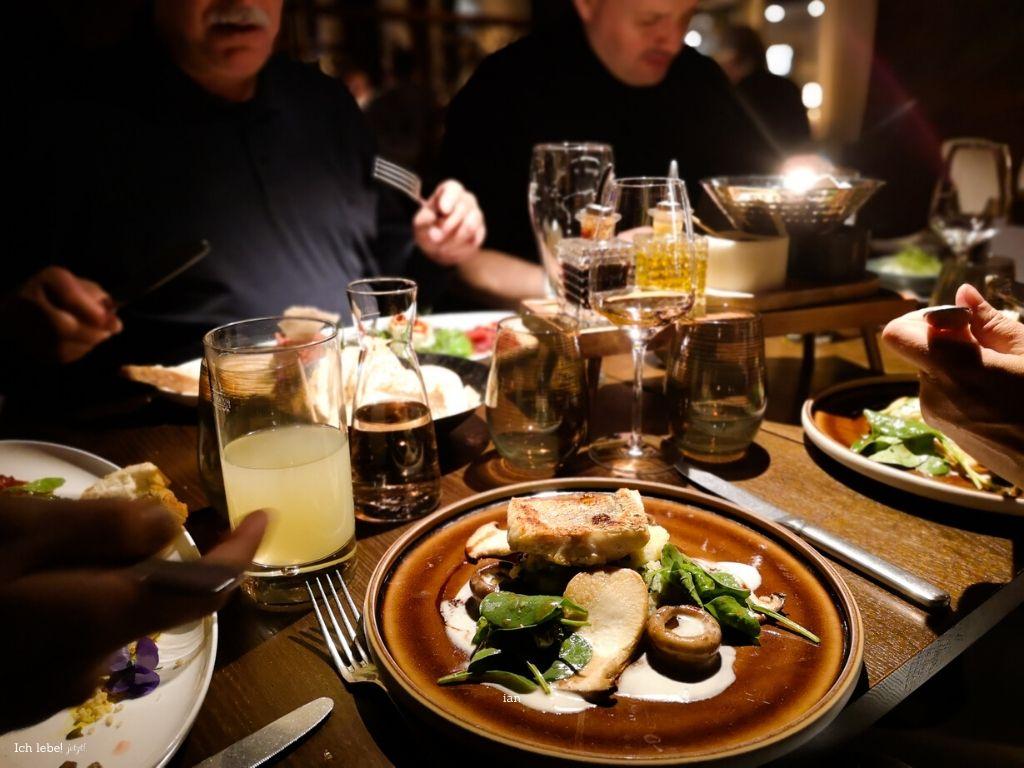 Abendessen im Goldenen Fässle