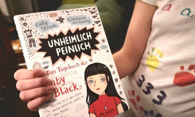 Unheimlich peinlich, das Tagebuch der Ruby Black – Rezension