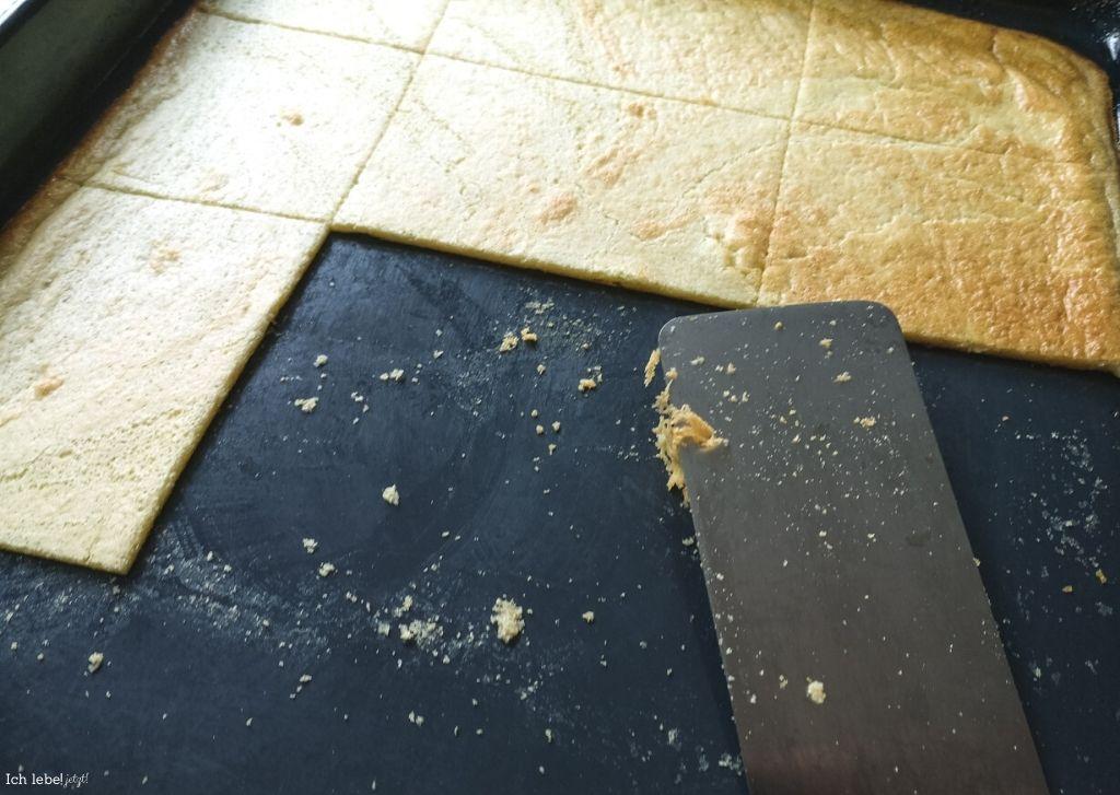 Ofenpfannkuchen direkt vom Blech